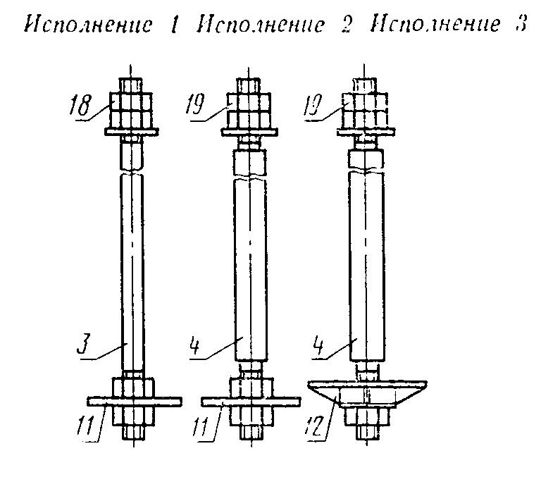 Болты ГОСТ 24379.1-80 тип 2